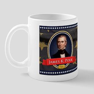 James K. Polk Historical Mugs