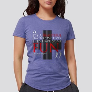Beautiful Day to Save Liv Womens Tri-blend T-Shirt