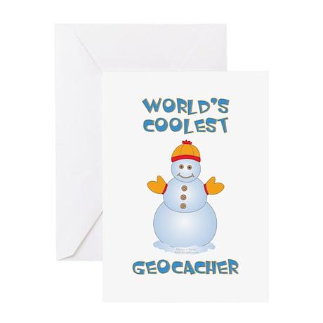 World's Coolest Geocacher Greeting Card