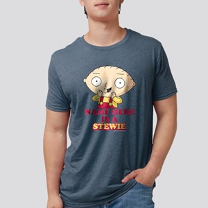 Family Guy Stewie Personali Mens Tri-blend T-Shirt