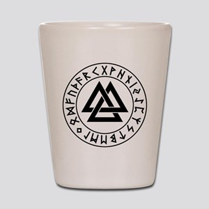 valknut Shot Glass