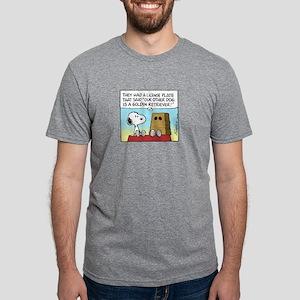 GoldenRetrieverPW Mens Tri-blend T-Shirt