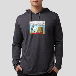 GoldenRetrieverPW Mens Hooded Shirt