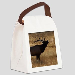 elk bugling Canvas Lunch Bag