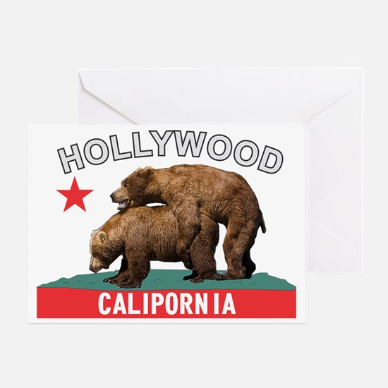 Hollywood Calipornia Greeting Card