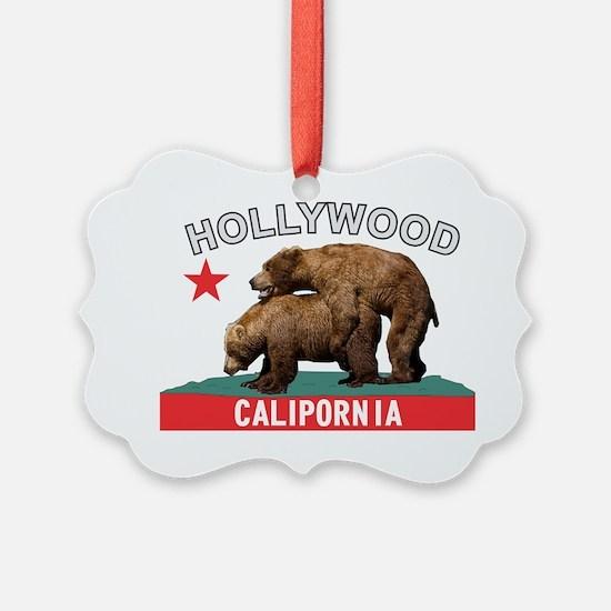 Hollywood Calipornia Ornament