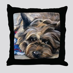 Waiting for the Wizard Throw Pillow