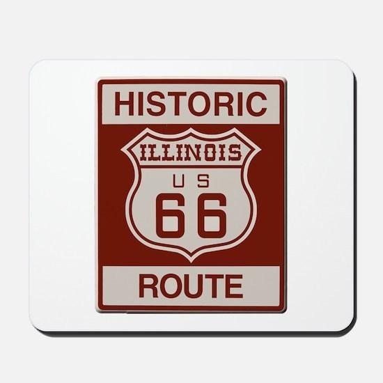 Illinois Route 66 Mousepad