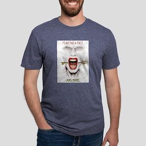 AHS Hotel Fear Has a Face Mens Tri-blend T-Shirt