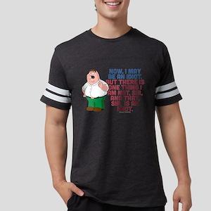 Family Guy Idiot Dark Mens Football Shirt