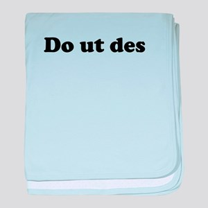 Do ut des baby blanket