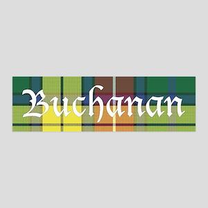 Tartan - Buchanan 36x11 Wall Decal