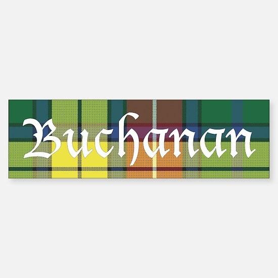 Tartan - Buchanan Sticker (Bumper)