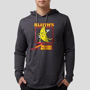 Bluth's Original Frozen Banana L Mens Hooded Shirt