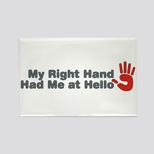Right Hand Rectangle Magnet
