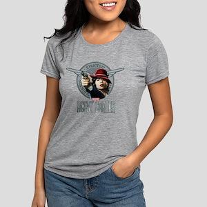 Agent Carter SSR Womens Tri-blend T-Shirt