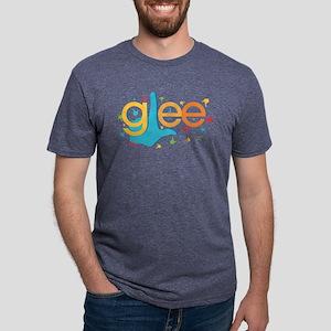 Glee Finger Dark Mens Tri-blend T-Shirt