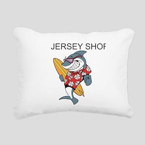 Jersey Shore Rectangular Canvas Pillow