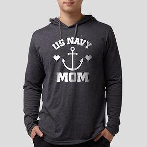 US Navy Mom gift idea Mens Hooded Shirt
