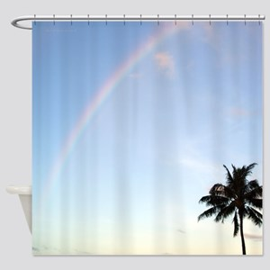 Tropical Morning Anuenue Shower Curtain