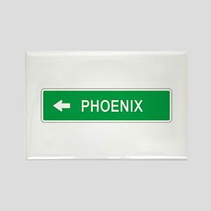 Roadmarker Phoenix (AZ) Rectangle Magnet
