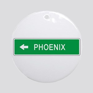 Roadmarker Phoenix (AZ) Ornament (Round)