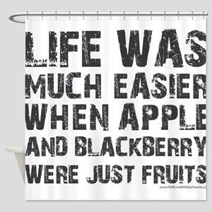 Life was much easier with apple and blackberries S