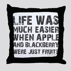 Life was much easier with apple and blackberries T