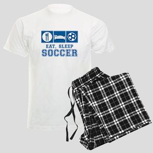 Eat, Sleep, Soccer pajamas