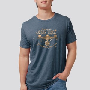 property of trek copper cop Mens Tri-blend T-Shirt