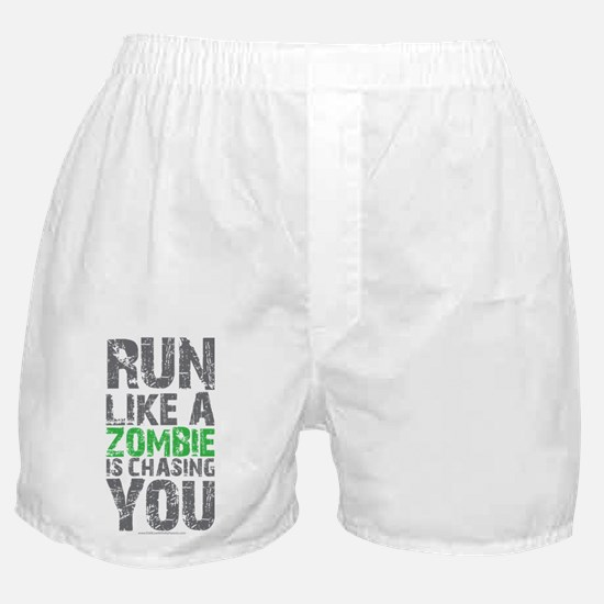 Rul Like A Zombie Is Chasing You Boxer Shorts