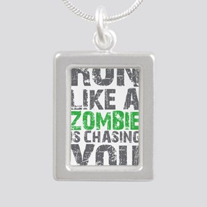 Rul Like A Zombie Is Chasing You Necklaces