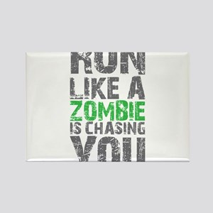 Rul Like A Zombie Is Chasing You Magnets