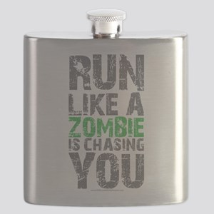 Run Like A Zombie Is Chasing You Flask