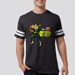 Retro Iron Fist Logo Mens Football Shirt