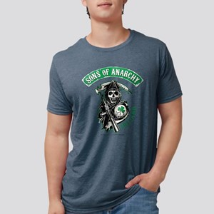 SOA Ireland Light Mens Tri-blend T-Shirt