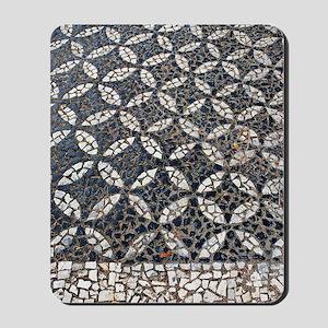 Portuguese sidewalk pavement Mousepad