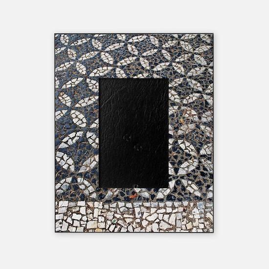 Portuguese sidewalk pavement Picture Frame