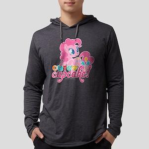 MLP Pinkie Pie Cupcake Dark Mens Hooded Shirt