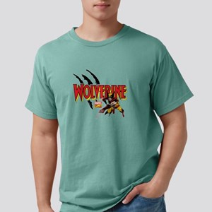 Wolverine slash Mens Comfort Colors Shirt