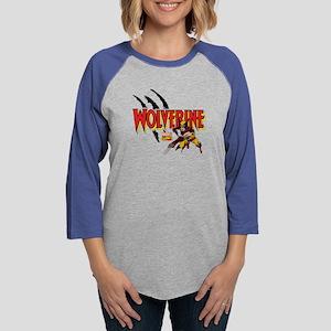 Wolverine slash Womens Baseball Tee