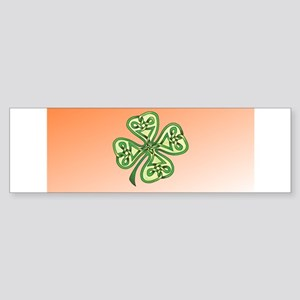 Four-Leaf Clover Sticker (Bumper)