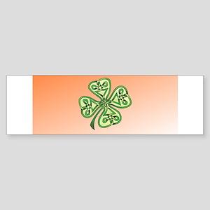 Four-Leaf Clover Sticker (Bumper)