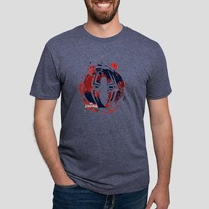 Spiderman Paint Mens Tri-blend T-Shirt