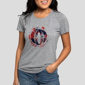 Spiderman Paint Womens Tri-blend T-Shirt