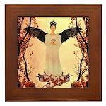 Angel : of the Orient : Framed Tile