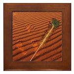 Angel Feather : Framed Tile