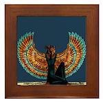 Angel : Egypt : Framed Tile