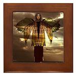 Angel #77 : Framed Tile
