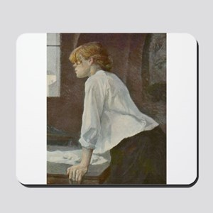 Toulouse-Lautrec The Laundress Mousepad